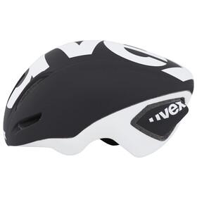 UVEX EDAero Helm black-white mat